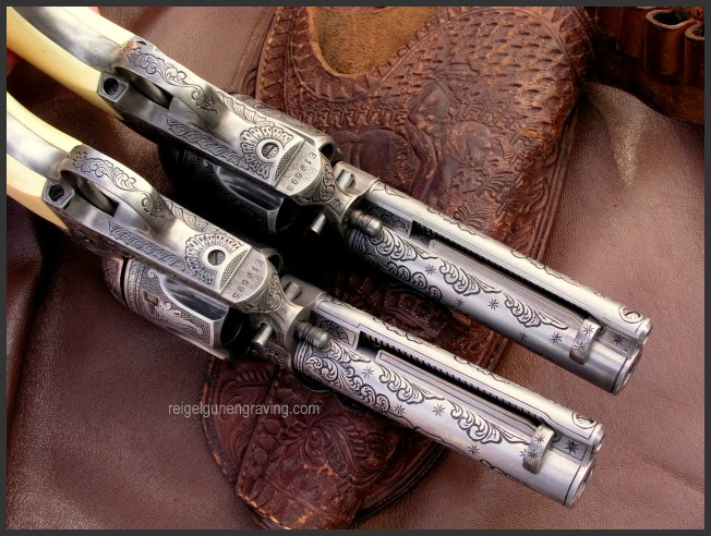 Pietta Great Western Colt 45 Peacemaker Model reigelgunengraving.com