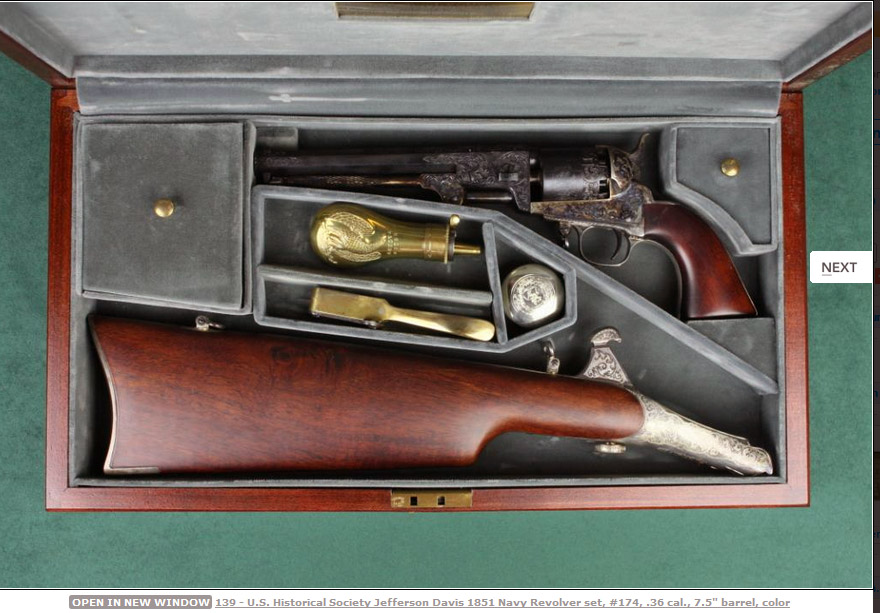 Jefferson David Colt 1851 Navy 2